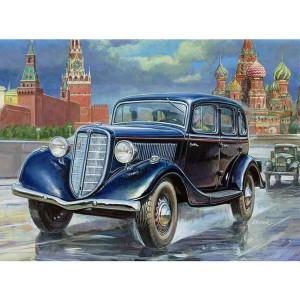 zvezda 3634 GAZ M1 Soviet Car