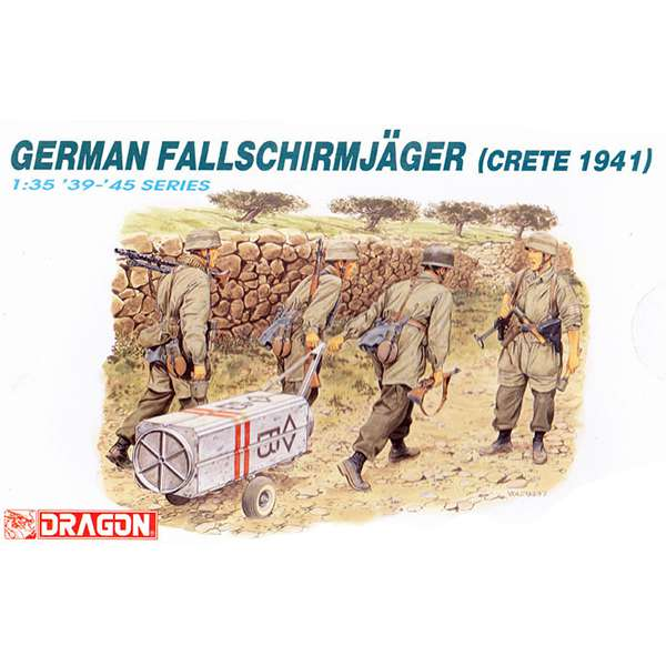 dragon 6070 German Fallschirmjager Crete 1941