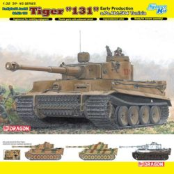 dragon 6820 Tiger I 131 s.Pz.Abt.504 Tunisia Early Production