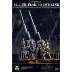 Takom models 2023 GERMAN 12.8 CM FLAK 40 ZWILLING