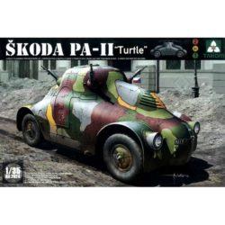 Takom models 2024 Skoda PA-II Turtle 2en1