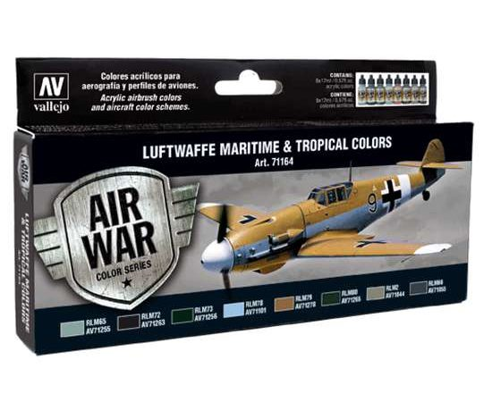 acrylicos vallejo AV71164 Luftwaffe Maritime and Tropical colors
