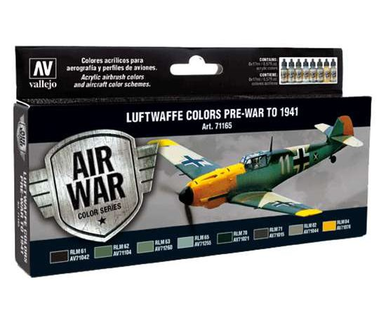 acrylicos vallejo AV71165 Luftwaffe Pre-War to 1941