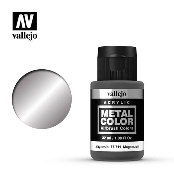 acrylicos vallejo 77711 metal color vallejo magnesium 32ml