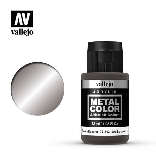 acrylicos vallejo 77713 metal color vallejo jet exhaust 32ml