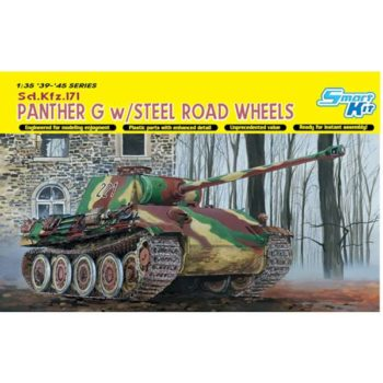dragon 6370 Sd.Kfz.171 Panther G w/Steel Road Wheels