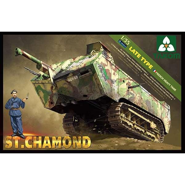 takom 2012 St Chamond Late Type French Heavy Tank