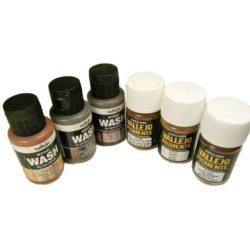 Pigmentos y Lavados