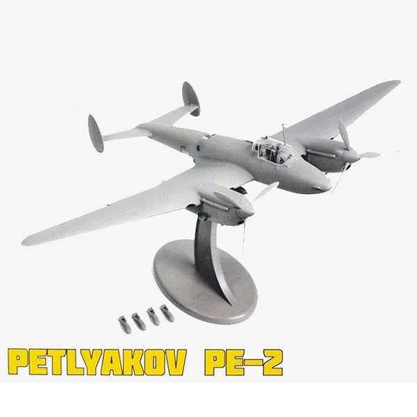 zvezda 4809 Soviet Petlyakov PE-2