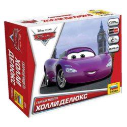 zvezda Disney Cars Holley Shiftwell Kit de fácil montaje por presión. No necesita pegamento. Incluye pegatinas. Recomendado a partir de 7 años.