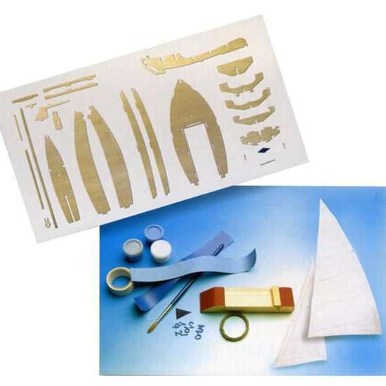 artesania latina 30501 Junior Velero Olympic 420 Kit de fácil construcción en madera.