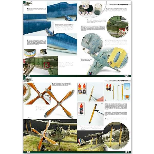 Enciclopedia de técnicas de modelismo de aviación Vol 3 Pintura Tercer volumen de la enciclopedia definitiva del modelismo de aviones.