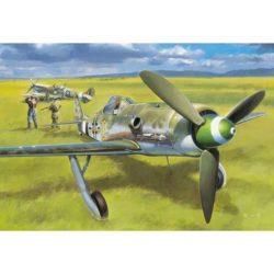 hobby boss 81721 Focke Wulf Fw190D-13 Diseñado por el Dr Kurt Tank a finales de los años 30, el Fw190 esta considerado como uno de los mejores cazas de la Segnda Guerra Mundial. Las fantásticas prestaciones del Fw190 le llevaron a sustituir rápidamente al Bf109