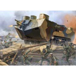 hobby boss 83858 French Saint-Chamond Heavy Tank - Early El Saint-Chamond fue el segundo tanque pesado francés de la 1ª GM fabricándose un total de 400 entre abril de 1917 y julio de 1918.
