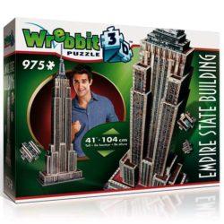 wrebbit -puzzle 3d 59207 EMPIRE STATE BUILDING Puzzle 3D Construido en 1930 fue en su día el edificio más alto del mundo con sus 443 metros, más de 100 pisos y 73 ascensores.