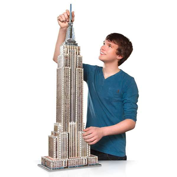 how to make a model of empire state building