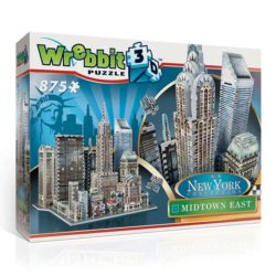 wrebbit puzzle 3d 59211 Manhattan Midtown East Puzzle 3D El edificio Chrysler (1930), edificio MetLife (1963), la torre Sony (1984), el centro Citigroup (1977), la estación Grand Central (1913).