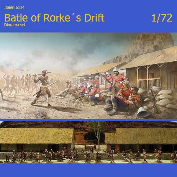 italeri 6114 Battle of Rorke 's Drift Diorama Set