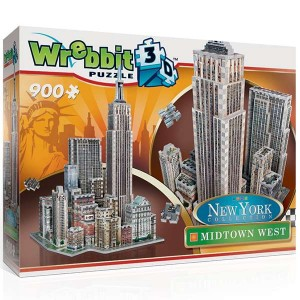 wrebbit puzzle 3d 59210 MANHATTAN MIDTOWN WEST PUZZLE 3D La ciudad de Nueva York no sería lo mismo sin el Empire State Building