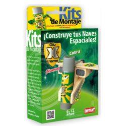 GluXtreme Kit de Montaje Cobra ¡Construye tus naves espaciales! Monta tus naves espaciales con madera y decóralas a tu gusto.