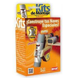 GluXtreme Kit de Montaje Roby ¡Construye tus naves espaciales! Monta tus naves espaciales con madera y decóralas a tu gusto.