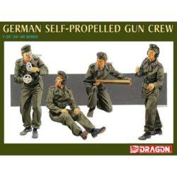 dragon 6367 German Self-Propelled Gun Crew Kit en plástico para montar y pintar. Cuatro figuras de tripulantes de cañón autopropulsado alemán, Marder III (ej) Piezas 50+