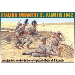 dragon 6391 Italian Infantry El Alamein 1942 Kit en plástico para montar y pintar. Cuatro figuras de infantería italiana en El Alemain 1942. Piezas 60+