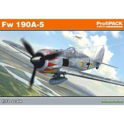 eduard 70116 Focke-Wulf Fw190A-5 Focke-Wulf Fw190A-5 de la serie Profipack de Eduard. Incluye dos fuselajes y dos juegos de alas distintos.