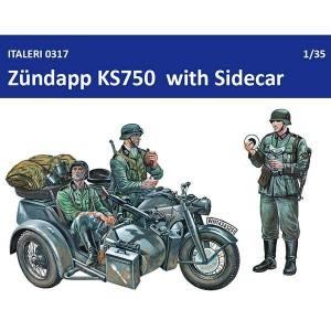 Zundapp KS750 with Sidecar italeri 0317