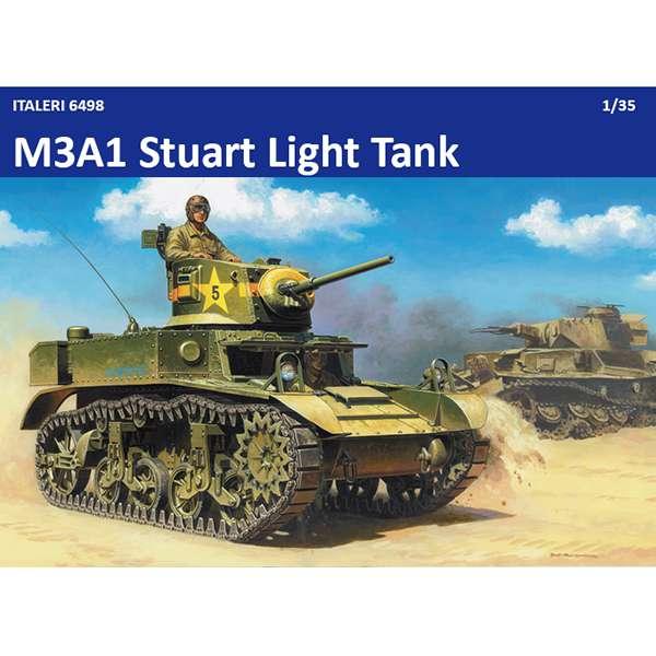italeri 6498 M3 A1 Stuart Light Tank USA