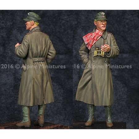 alpine miniatures 35209 DAK AFV Commander