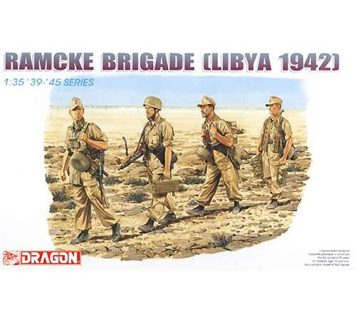 dragon 6142 Ramcke Brigade Libya 1942