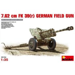miniart 35104 German 7.62cm FK 39(r) Field Gun