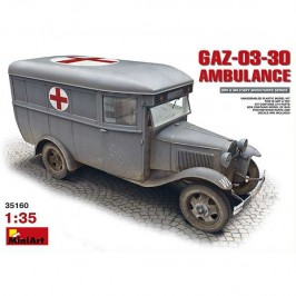 miniart 35160 GAZ-03-30-Ambulance