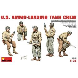miniart 35190 US Ammo-Loading Tank Crew