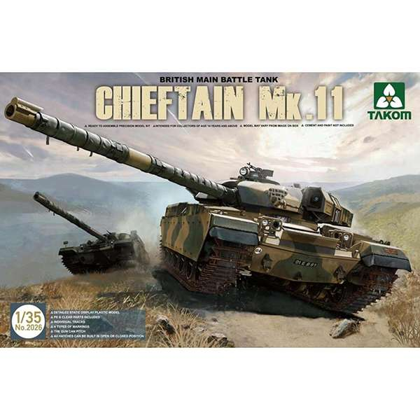takom 2026 British Chieftain Mk.11takom 2026 British Chieftain Mk.11