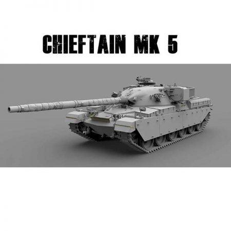 takom 2027 British Chieftain Mk.5/5P