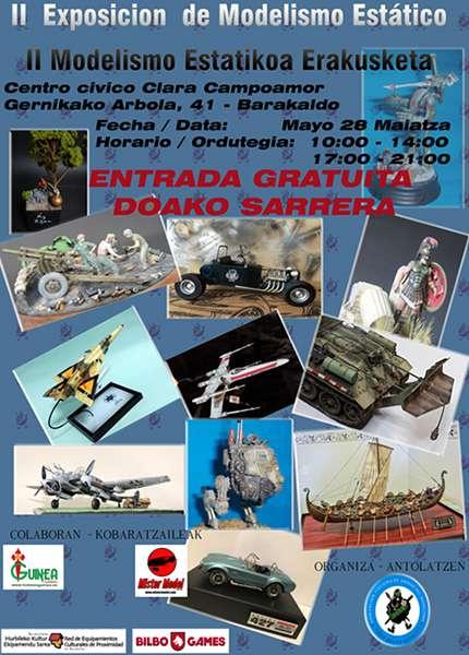 II EXposicion de modelismo estatico en Barakaldo 28-05-2016