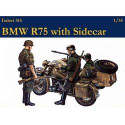 italeri 0315 BMW R75 with Sidecar