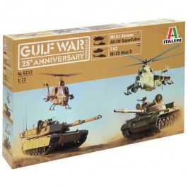 italeri 6117 GULF WAR 25th ANNIVERSARY BATTLE SET