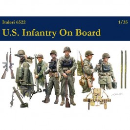 italeri 6522 US Infantry On Board 1/35