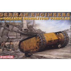 dragon 6103 German Engineers w Goliath Demolition Vehicles