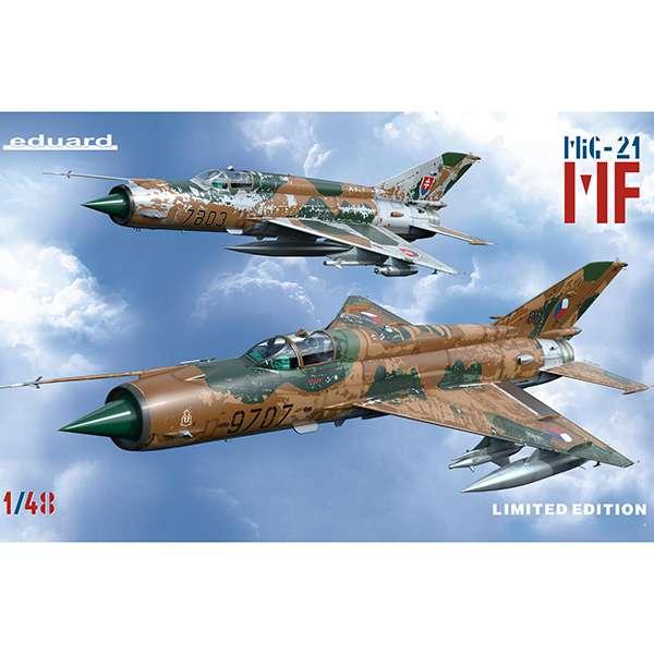 eduard 1199 MiG-21MF in Czech and Czechoslovak service
