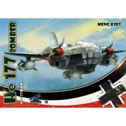 meng kids mplane-003 Meng Kids Heinkel He 177 Greif Bomber Modelo super-deformado del famoso bombardero alemán Heinkel He 177 Greif. Montaje fácil y rápido sin pegamento ideal para principiantes.