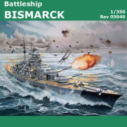 revell 05040 Battleship BISMARCK 1/350