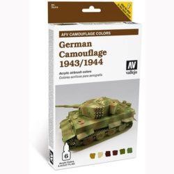 acrylicos vallejo 78414 AFV Camouflage Colors: German Camouflage 1943-1944