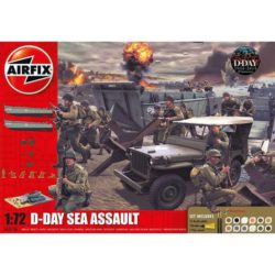 airfix a50156 D-Day The Sea Assault Gift Set 1/72