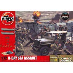 airfix a50156 D-Day The Sea Assault Gift Set 1/72