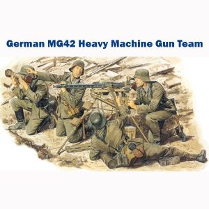 dragon 6064 German MG42 Heavy Machine Gun Team