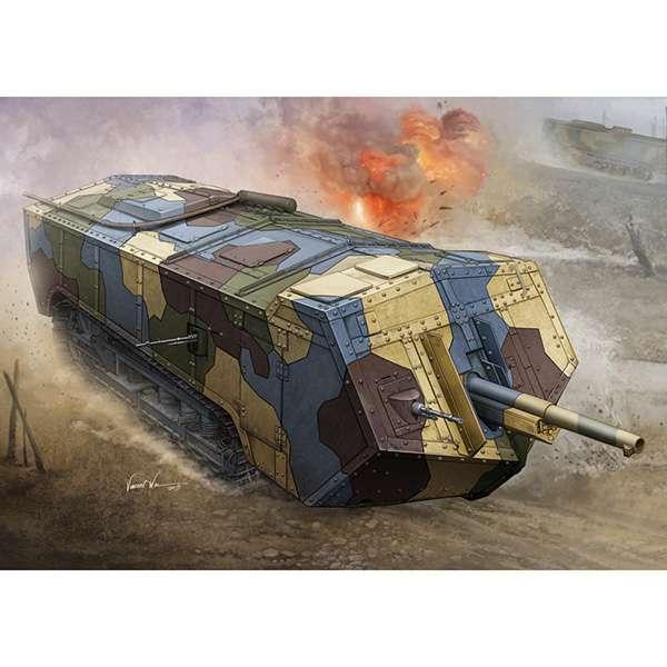 hobby boss 83859 French Saint-Chamond Heavy Tank Medium